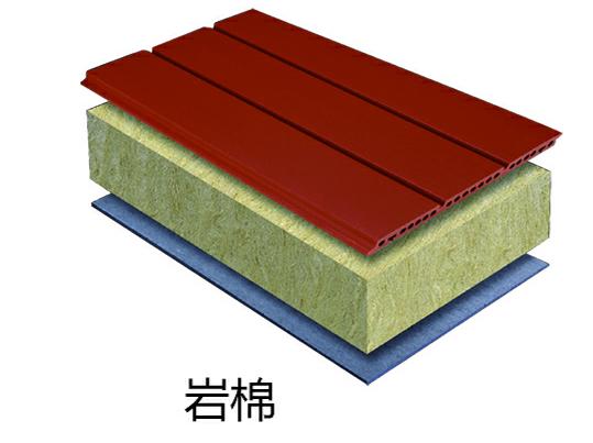 陶土板+岩棉+水泥压力板