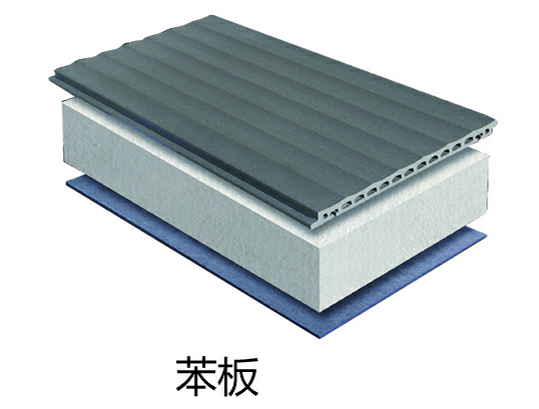 陶土板+苯板+水泥压力板
