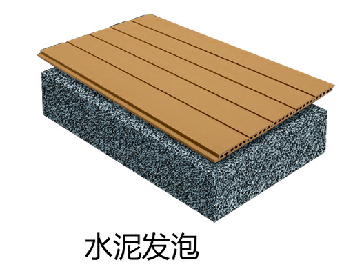 陶土板+水泥发泡