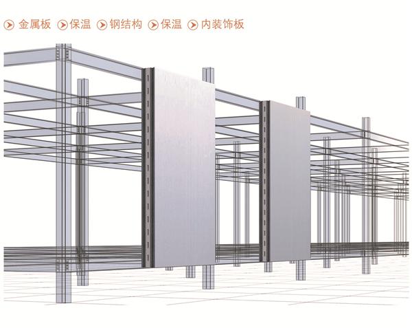 金属板装配式墙板