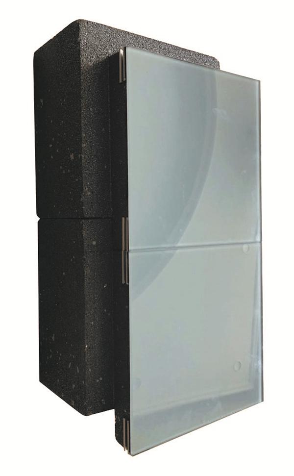 被动式玻璃保温一体板